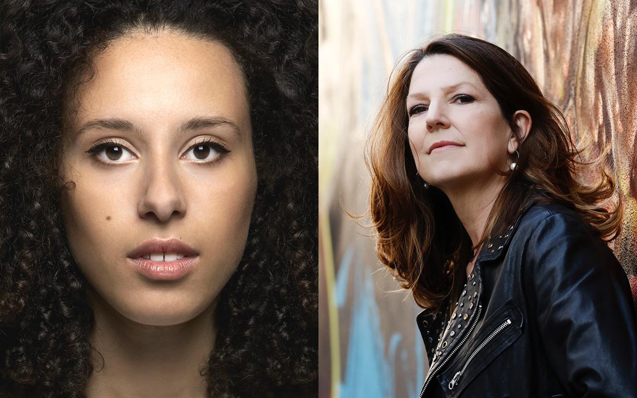 Adèle Charvet et Susan Manoff